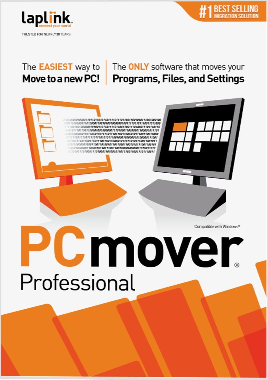 Laplink PCmover Professional 8 - 10 Use [Download] by Laplink Software