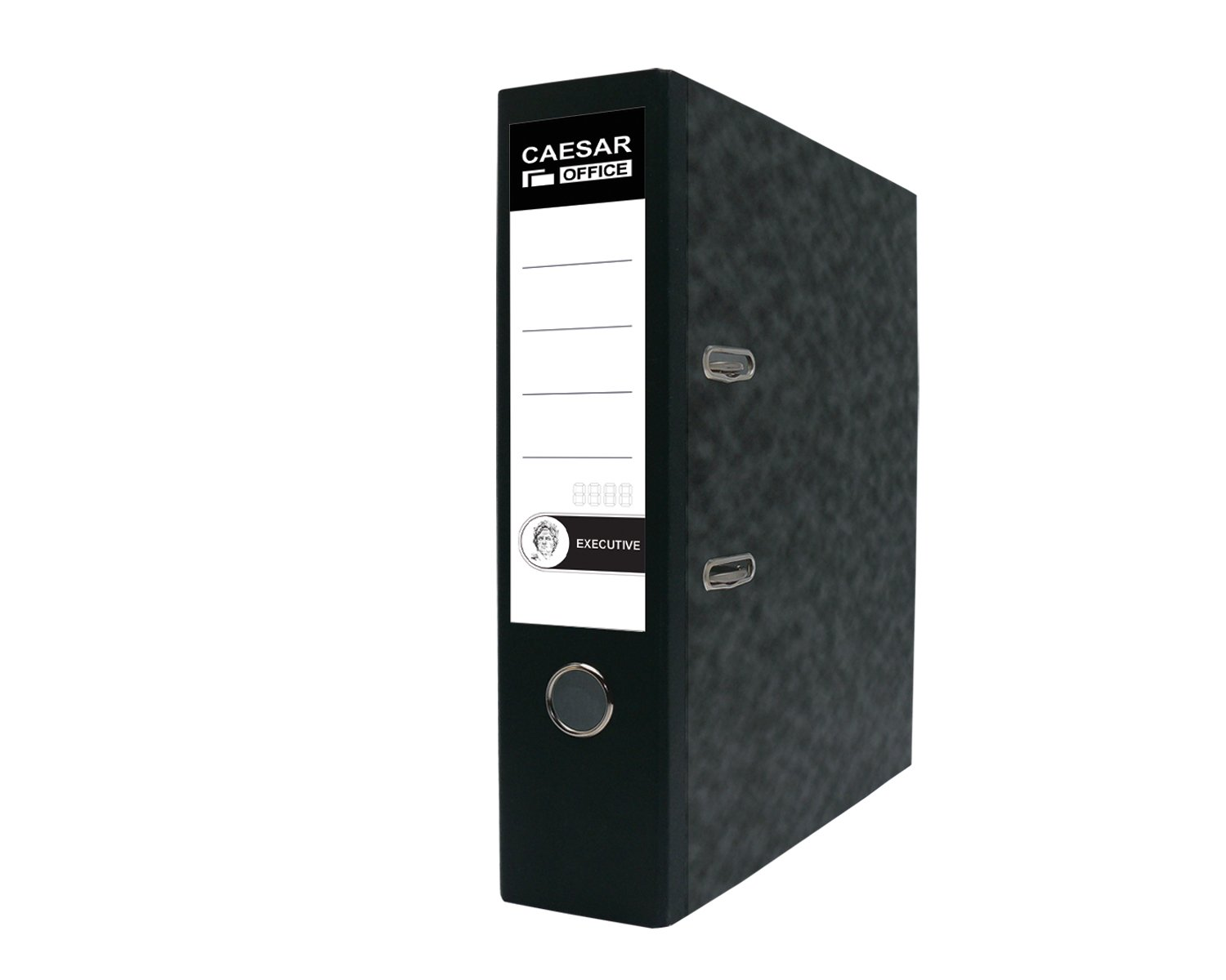 Executive A4 Professional Polypropylene Lever Arch File Binder - Black (Pack of 20)