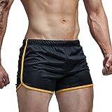 AIMPACT Men's Running Shorts Breathing Athletic Gym Mesh Shorts for Men