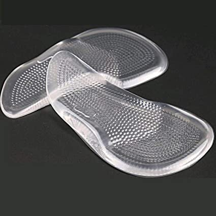 1Pair Orthotic 3//4 Arch Support Pad Comfortable Shoes Insoles Inserts Flat Foots
