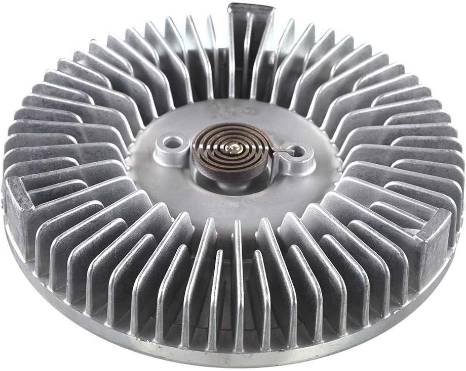 A-Premium Engine Cooling Fan Clutch for Dodge Ram 1500 2500 3500 1994-2004 Dakota 1992-1996 Durango D150 D250 D350 W150 W250 W350 Ramcharger