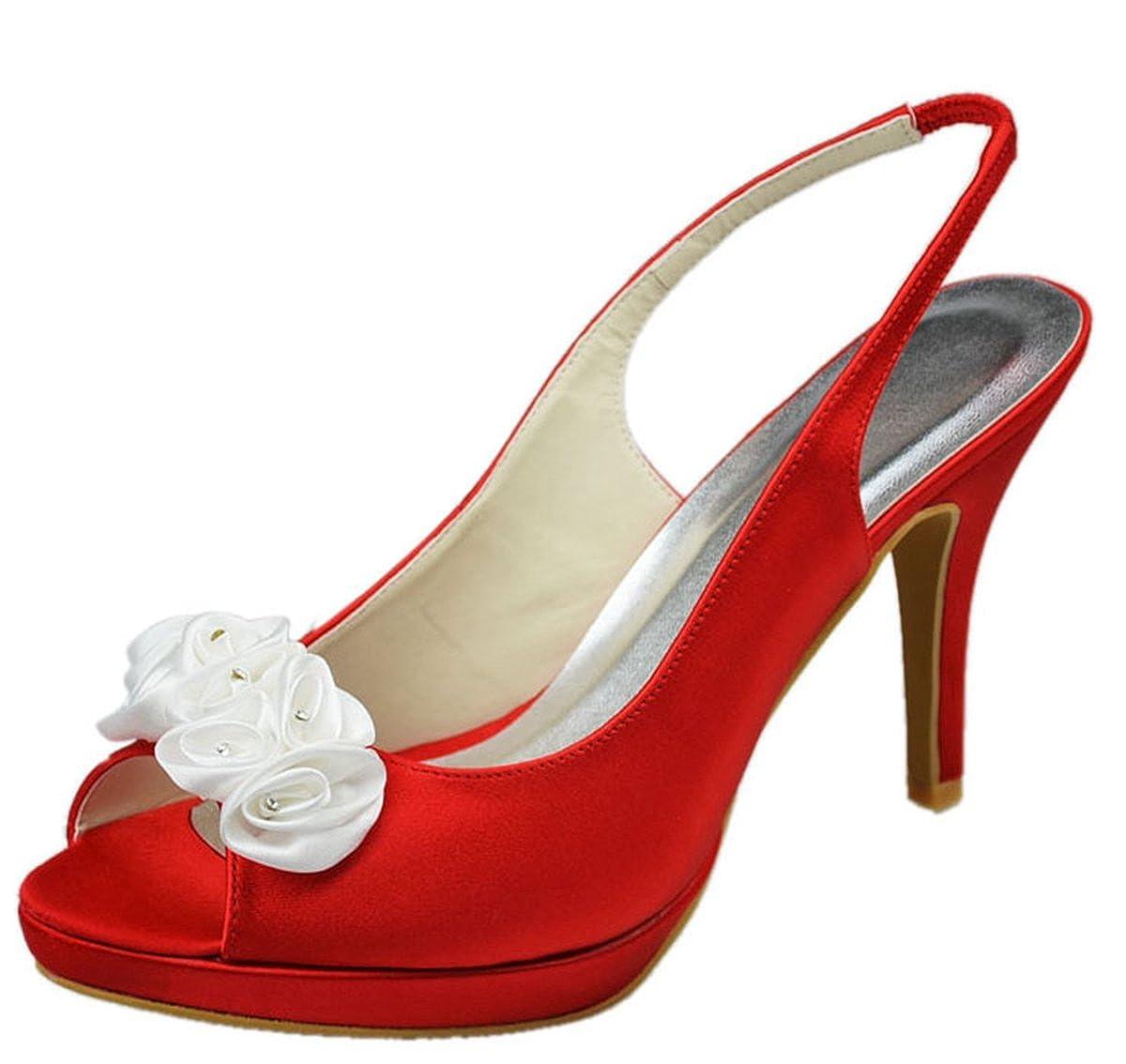 Minitoo , Semelle compensée , femme Semelle Rouge femme - rouge 447c4af - robotanarchy.space