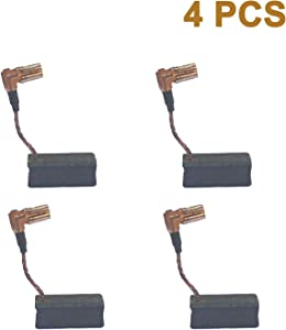 4 Pcs Carbon Motor Brush Compatible with DeWalt DWE4120 / DWE4011,Dewalt N097696 Grinder Motor Replacement Part