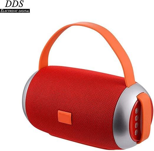 DDS Tela Altavoz Bluetooth, Inalámbrico Portátil/Exterior/Tarjeta / / Subwoofer Portátil, Audio Portátil/para El iPhone/Samsung /Huawei/iOS/Android/Tablet/PC/TV,B: Amazon.es: Hogar