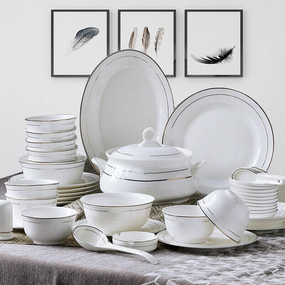 Amazon.com  Ceramic Bowl Tableware Set Bone China Tableware Set