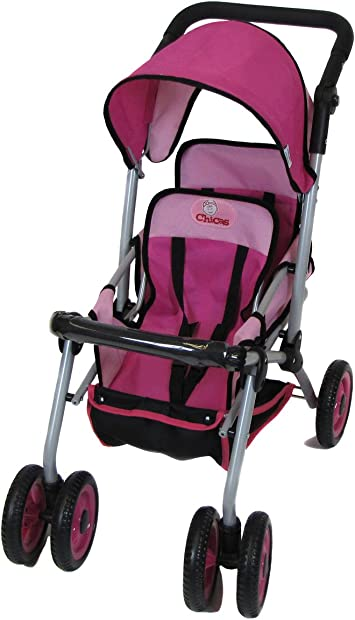 UKIC Dolls Twin Stroller