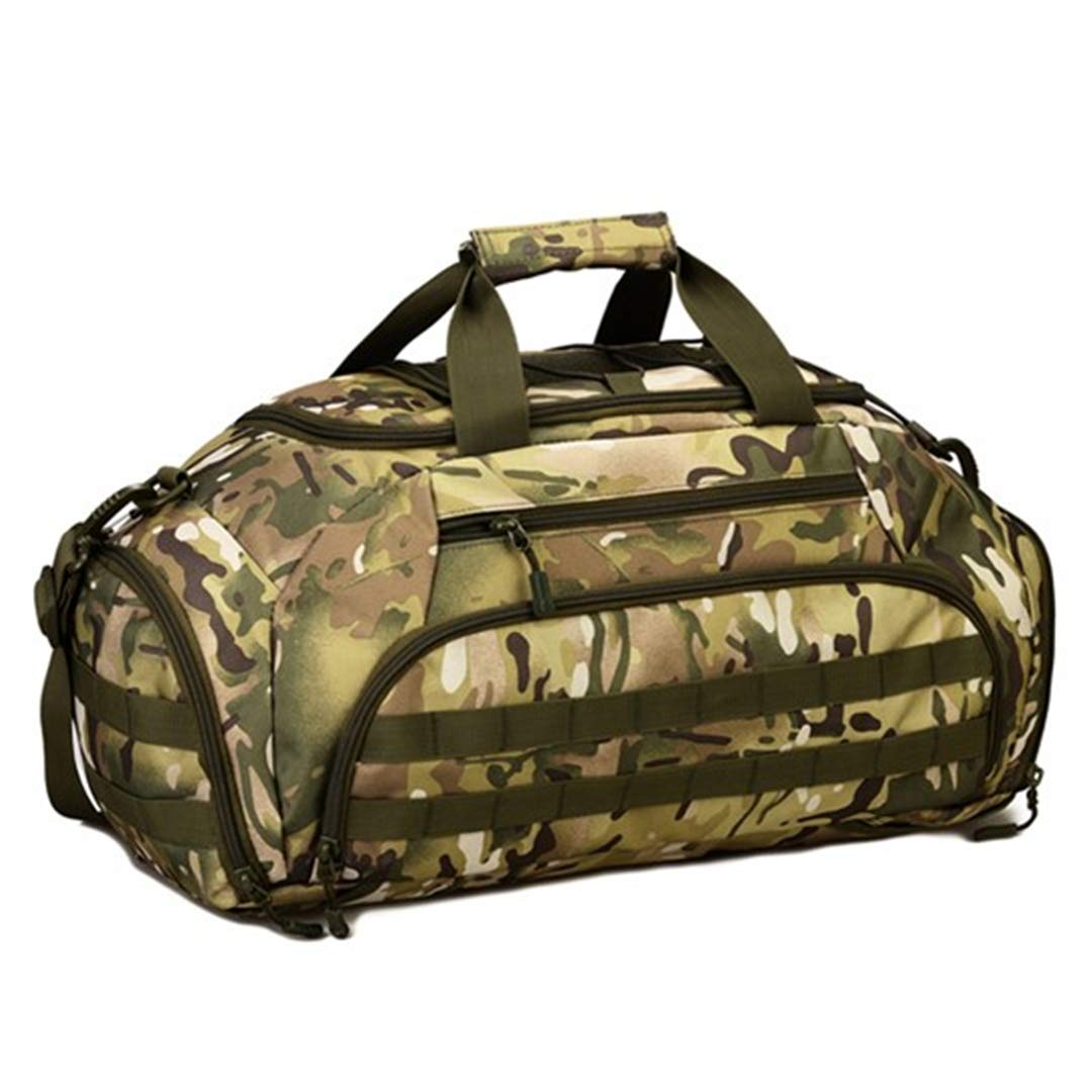 CP camouflage as picture Military Backpack Rucksack Tactics Army Bags Nylon Waterproof Laptop Travel Bag Jungle Digital