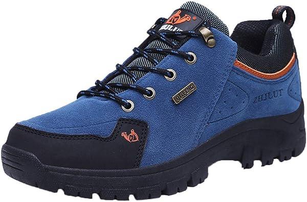 Zapatillas de Hombre, Pareja de Modelos al Aire Libre Zapatos de Senderismo Solo Zapatos de Senderismo para Hombres Zapatos para Escalar Zapatillas Trekking al Aire Libre Casuales montaña by BaZhaHei: Amazon.es: Zapatos