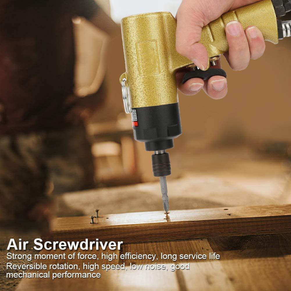 1//4 Air Screwdriver Reversible Type Rotation Industrial Screw Driver Tool 5000rpm