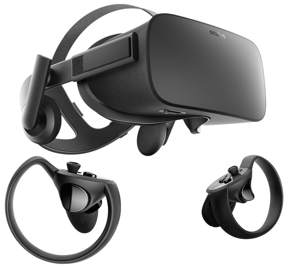 Image result for oculus rift + touch virtual reality system