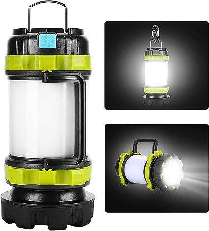 Multifunction Rechargeable LED Flashlights Camping Lantern Light Lamp Waterproof
