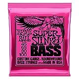 Ernie Ball Super Slinky Nickel Round Wound Bass Set.045 - .100