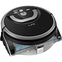 ILIFE W400 Floor Washing Scrubbing Robot, Dual 0.9L Water Tank