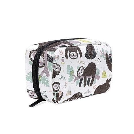Amazon.com: Bonito saco de cosméticos para dormir, bolsa de ...