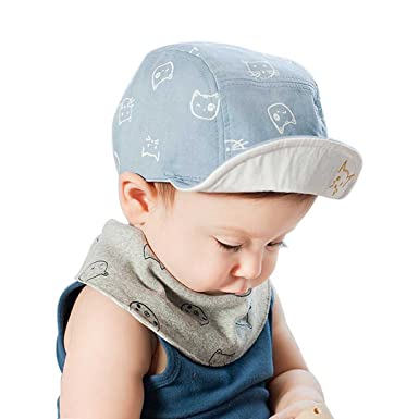 84207bd3c79 Marca west Unisex Baby Kid Child Toddler Boy Girl Safari Baseball Sun  Protection Beanie Cap Hat  Amazon.in  Clothing   Accessories