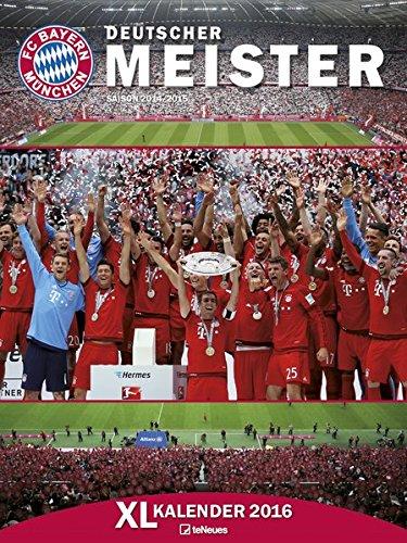 FC Bayern München XL Kalender 2016