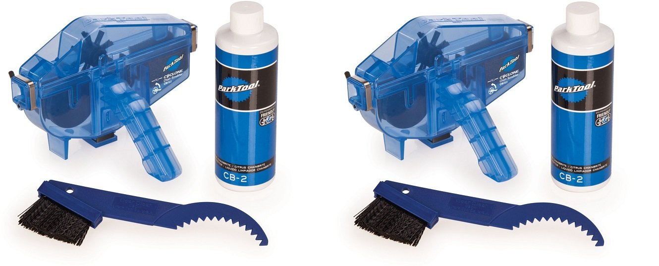 Park Tool CG-2.3 Chain Gang Chain Cleaning System Blue, One Size (2 Kits)