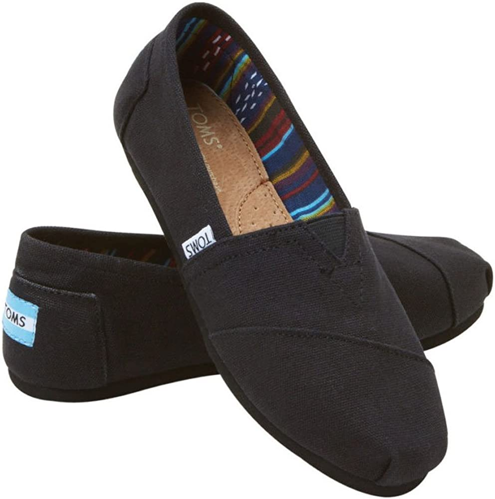 Toms Trvl Lite Alpine Stivale Black On Black Canvas