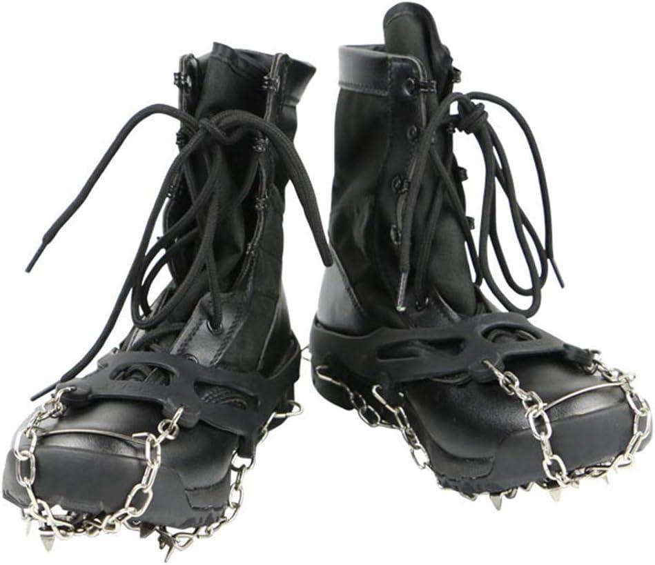 ZXXxxZ Tacos de Hielo Crampones 1 par para Botas Zapatos ...