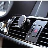 حامل مغناطيسي قوي لأجهزة الجوال وخرائط الملاحة يتم تركيبه على فتحات التكييف بالسيارة
