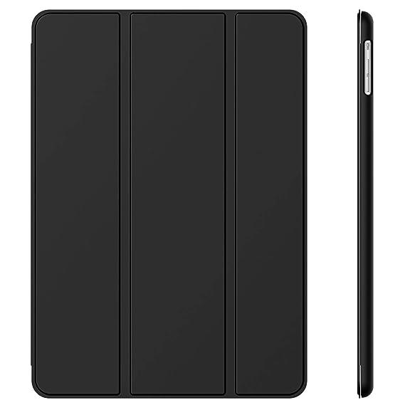 JETech Hülle für Apple iPad Air (2013 Modell), Schutzhülle mit Ständer Funktion und Auto Schlaf/Wachen, Schwarz