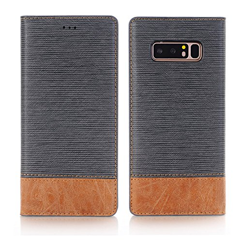 Galaxy Note 8 Case, Ayans Galaxy Note 8 Wallet Case [Card Slots ][Stand Feature] PU Leather Flip Wallet Case Cover for Galaxy Note 8 by Ayans
