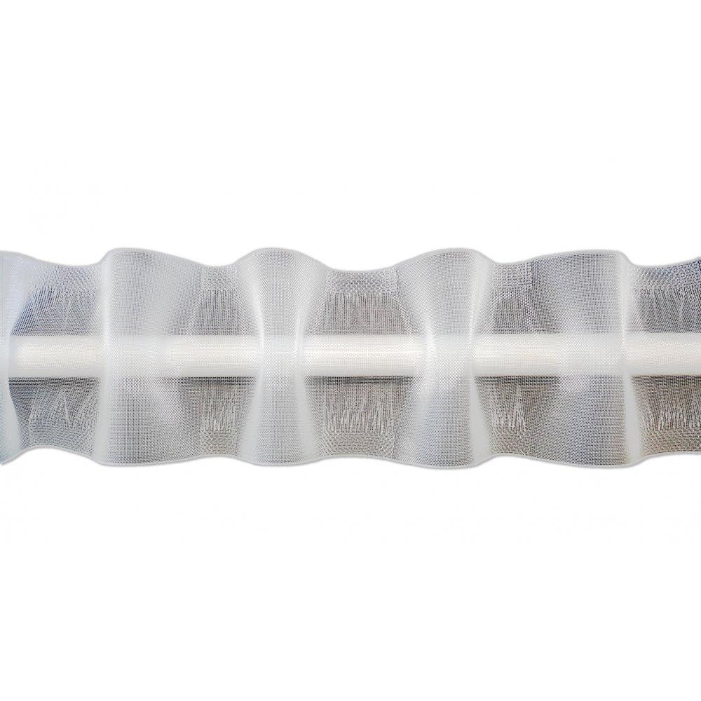 Faire des Rideaux Galon fronceur Plis Vague Passe-Tringle 100mm Largeur Variable - Vendu au ML