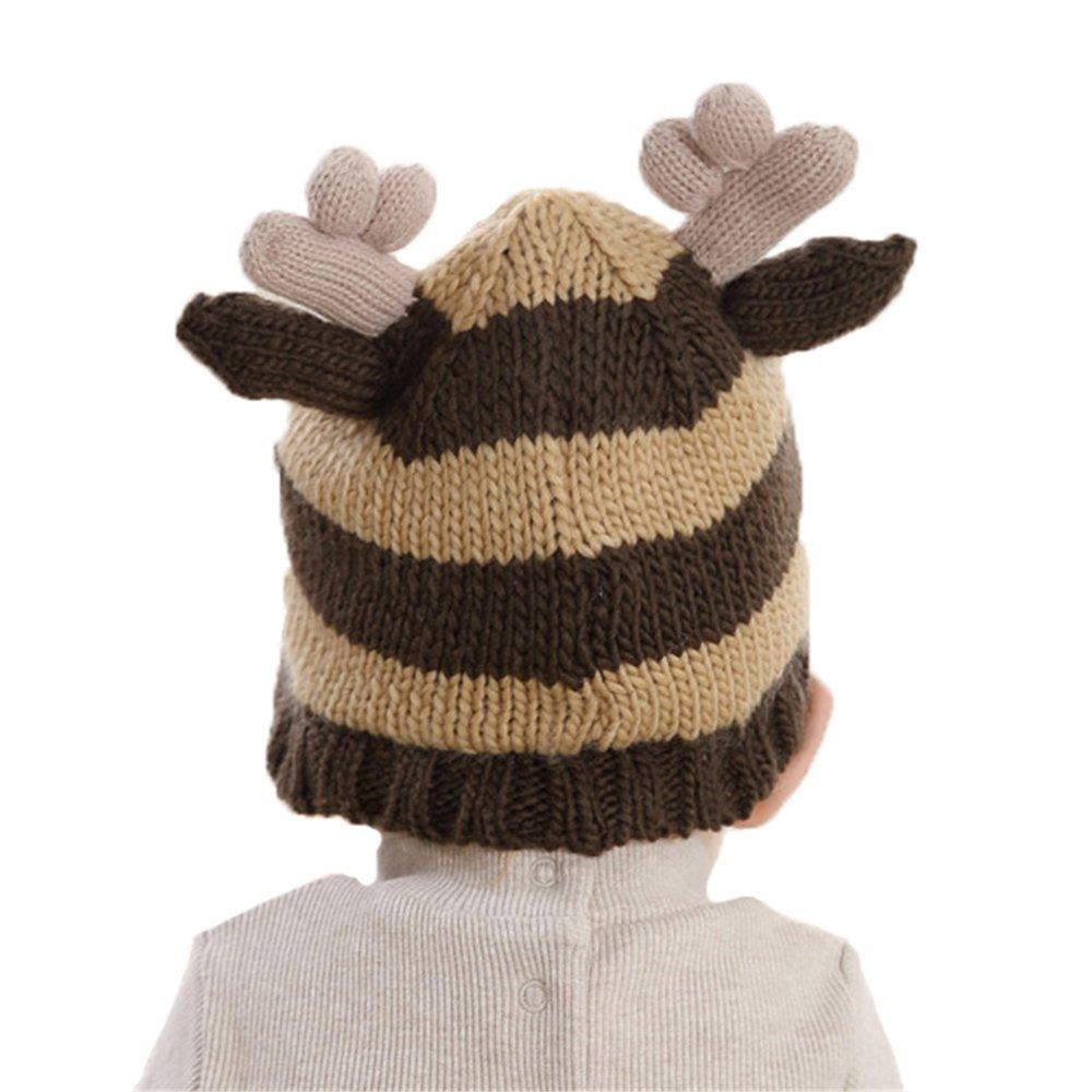 Bonnet Tricot Enfant Bébé Chapeau Elfe Wapiti Automne Hiver Costume  Accessoires Noël  Amazon.fr  Vêtements et accessoires 575f08a5a3e