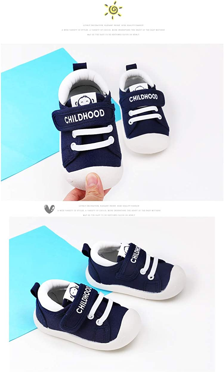Baby First Walking Shoes 1-4 Years Kid Shoes Trainers Toddler Infant Boys Girls Soft Sole Walkers Indoor-Outdoor