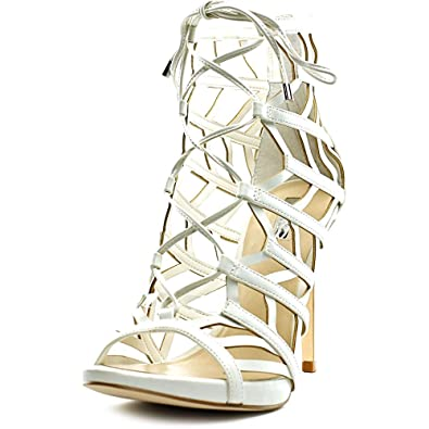GUESS Women's Anasia White Synthetic Sandal