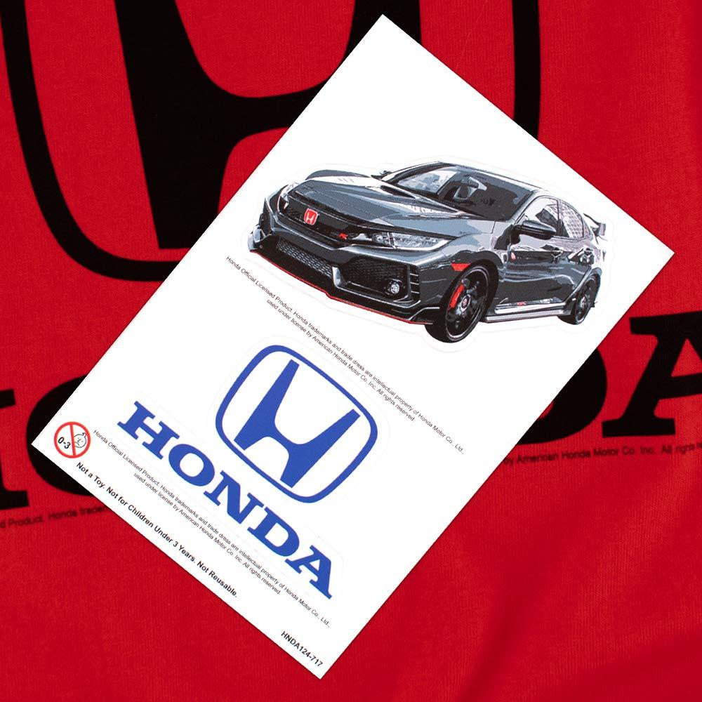 Honda Auto Logo Black T Shirt /& Stickers