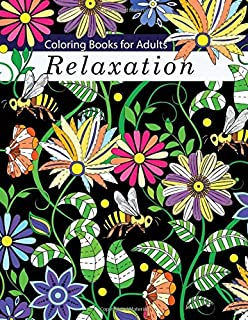 Adult Coloring Book: Stress Relieving Patterns (Adult Coloring Books ...