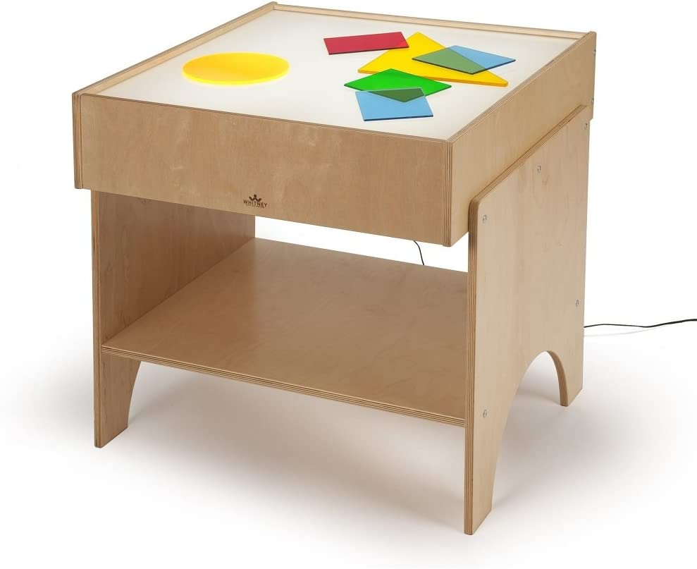 Whiteney brothers light table for kids