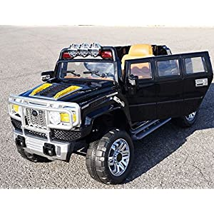 Electric-Battery-operated-Ride-On-Car-For-Kids-HUMMER-Style-Model-HJJ255-B-Remote-Control-Black