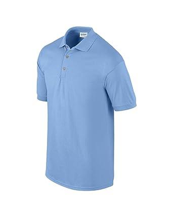 acb25513 GILDAN Men's Ultra Cotton Adult Pique Polo Shirt (Carolina Blue), Medium  (Manufacturer