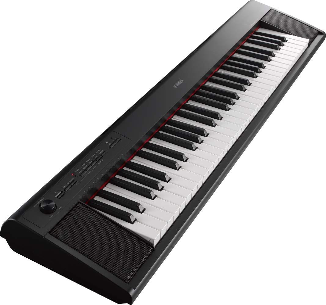 Yamaha NP-12 61-Key Entry-Level Digital Piano Keyboard W/Keyboard Survival Kit & Keyboard Stand & Bench by Yamaha (Image #4)
