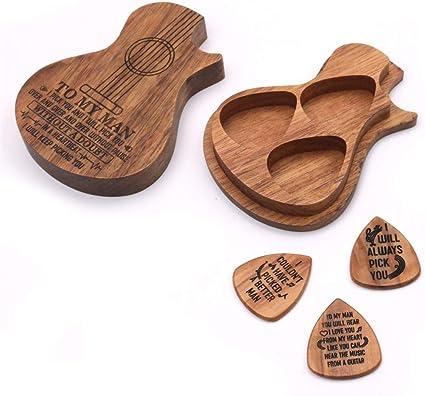 OUYAWEI - Juego de púas de Madera para Guitarra: Amazon.es: Coche ...