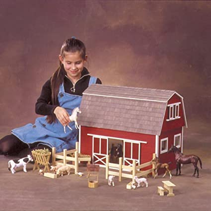 Real Good Toys Barn Stores And Mouse House Ruff N Rustic All American Barn Dollhouse
