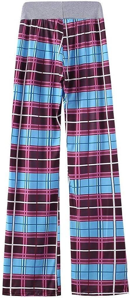 Floral Print Drawstring Palazzo Lounge Pants melupa Comfy Casual Pajama Pants for Women Wide Leg Pj Bottoms Pants