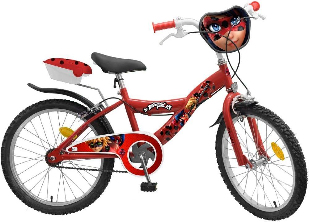 Bicicleta Lady Bug Licencia oficial niño Mariquita 20 pulgadas ...