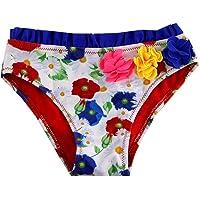 SOL Y PLAYA-Bañador niña para Natación Traje de Baño para Bebés Bañador Braguita niña Bikini niñas Ropa de baño Flor…