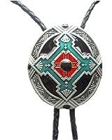 Native American Indian Art Bolo Tie - 059