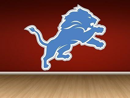 2cc8e0c6 Amazon.com: Detroit Lions sticker, Detroit Lions decal, Lions decal ...