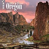 Oregon, Wild & Scenic 2018 7 x 7 Inch Monthly Mini Wall Calendar, USA United States of America Pacific West State Nature (Multilingual Edition)