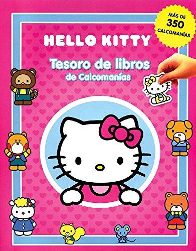 Tesoro de libros de calcomanias: Hello Kitty