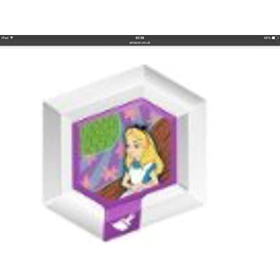 Disney Infinity Power Disc - ALICE'S WONDERLAND Series 1: Disc 12 of 21 by Disney Infinity: Video Games