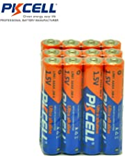 12 Pcs AAAA LR61 EN96 AM-6 D5344 65030 1.5V Alkaline Batteries