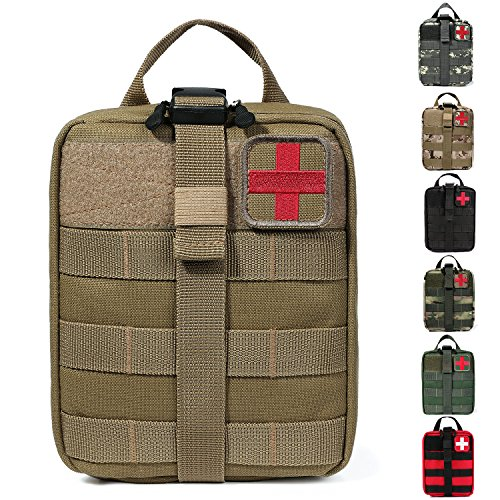 BAGAIL Rip-Away EMT Pouch Molle Pouch Ifak Pouch Medical First - Import It  All