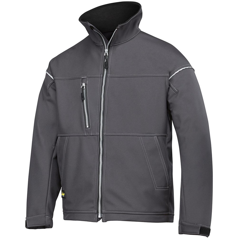 Black Snickers 12110400006 Size Large Soft Shell Jacket