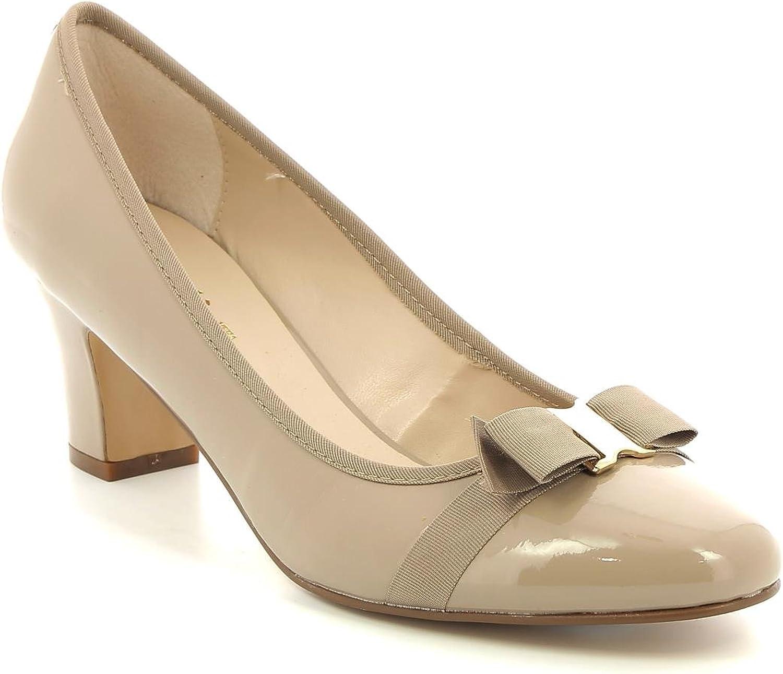 ESTRADÀ by Scarpe&Scarpe - Zapatos de salón con moño, de Piel